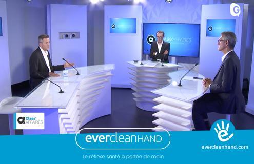 Evercleanhand dans l'émission Class'Affaires de TéléGrenoble