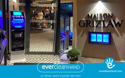 Evercleanhand, la solution de désinfection des mains pour les restaurants, les cafés et les hôtels