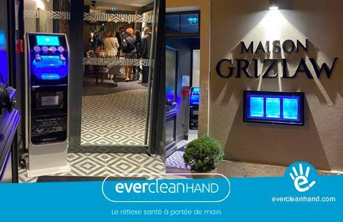 EverCleanHand équipe le restaurant Maison Grizlaw à Valence